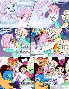 """Dialogs and also """"The Hammer of Justice"""": Art and Colors and also """"The whining One!"""": This is obvious a fan art of Steven Universe with a little twist! ^_^ -----------------------------------------..."""