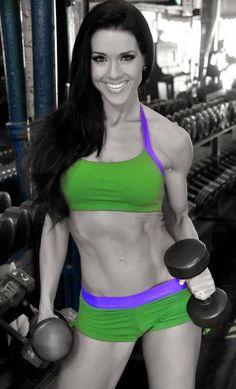 Jennifer Andrews IFBB bikini pro....