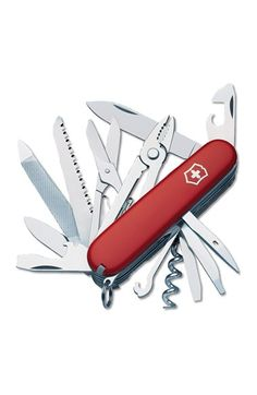 Victorinox Swiss Army 'Handyman' Pocket Tool - Red
