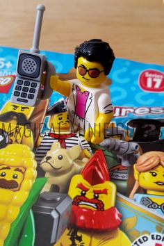 Lego Project 365 May 6th - Welcome to the family Yuppie! 😎 (126/365) Featuring Lego Minifigure Yuppie - Series 17 - breaking free from his mystery bag!