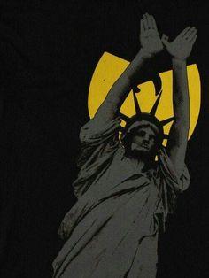 Lady Liberty loves Wu Tang Clan! #bringdaruckas