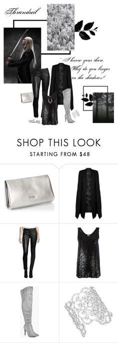 """""""Thranduil ~ King of Mirkwood"""" by le-piano-argent ❤ liked on Polyvore featuring Coccinelle, WithChic, Ralph Lauren, P.A.R.O.S.H., Boohoo, Kate Spade and Cathy Waterman"""