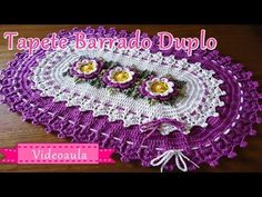 TAPETE BARRADO DUPLO - YouTube