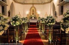 Decoração e Cerimonial: Esfera Eventos l Santa Ignez por Esfera.Eventos