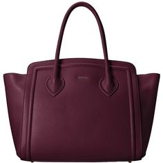 Furla College Large Tote North/South (1.653.175 COP) ❤ liked on Polyvore featuring bags, handbags, tote bags, barolo, flat purse, structured tote, purple tote bag, furla tote and structured handbag