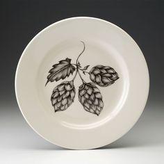 Laura Zindel Design - Dinner Plate: Hops