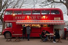 Fish and Chips Shop, Southbank, London.