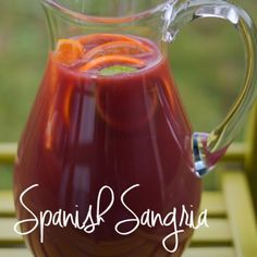 This Spanish Sangria recipe is always a hit at my soirees or when I bring it to . This Spanish Sangria recipe is always a hit at my soirees or when I bring it to parties for friends. Sangria Recipes With Rum, Spanish Sangria Recipe, Margarita Recipes, Merlot Sangria Recipe, Puerto Rican Sangria Recipe, Healthy Sangria Recipe, Drink Recipes, Cocktail Recipes, Red Wine Sangria