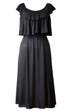 Just a Little Black Vintage Dress
