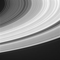 Saturn Rings. A very busy noisy dangerous place! Would shred anything that gets caught in them.