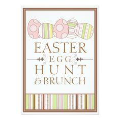 Easter Egg Hunt Invitations Pretty Pastel Decorate Easter Egg Hunt Invitation