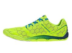 New Balance Minimus 10V2 Trainers Mens Road Bright Lime Blue Atoll UK Cheap Online