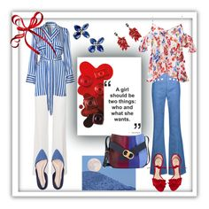 """""""Red & Blue once more"""" by cripagni on Polyvore featuring moda, Marni, Derek Lam, Tanya Taylor, Roland Mouret, Sylva & Cie, Alexandre Birman e Tory Burch"""
