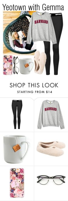 """Yeotown with Gemma"" by babedirectionerx ❤ liked on Polyvore featuring Topshop, le mouton noir & co., UGG, Casetify, ZeroUV, topshop, ugg and gemmastyles"