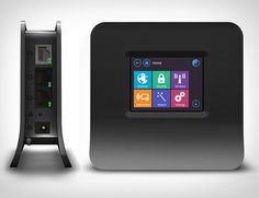 Touch Screen Wireless Router