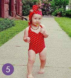 Think this is the cutest? Vote for cutie Baby Swag, Babys, Bikinis, Swimwear, Red And White, Girl Outfits, Cute, Christmas, Clothes