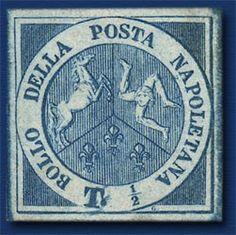 Un francobolo #Trinacria del 1860, il cui valore si aggira sui 150 mila euro...