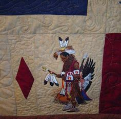 NATIVE AMERICAN QUILT PATTERNS | Native American | Pinterest ... : native american quilt block patterns - Adamdwight.com