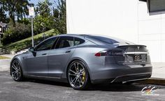 Tesla Model S by CEC in Los Angeles CA . Click to view more photos and mod info.