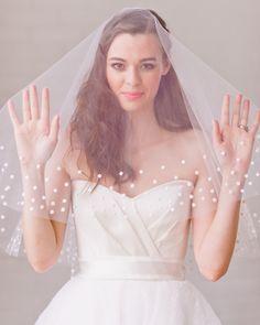 Veil dots o meglio: il velo a pallocchi!  #veil #velo #vestitodasposa #wedding #matrimonio #dots #polkadots #pois