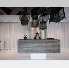 jiun ho bird cages and reception desk