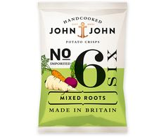 John & John Potato Crisps - The Dieline - The #1 Package Design Website -