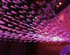 paper airplane decoration