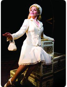 Louise Dearman (Glinda) in the West End production