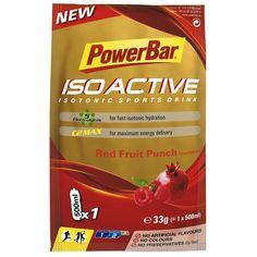 Goede sportvoeding bouwt een gezond lichaam. Neem #Isoactive Single Serve van #Powerbar. Gemakkelijk om mee te nemen en ter plekke een bidon te vullen.