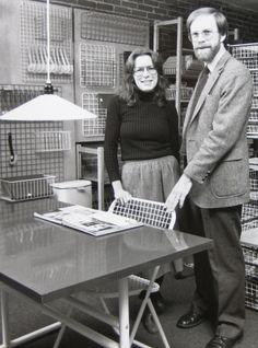 Amazing design leaders Lu Wendel Lyndon & Maynard Hale Lyndon Placewares: A Big Well-Designed Circle