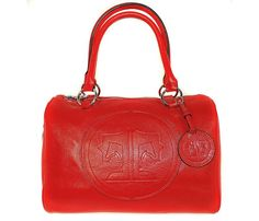 Normandy Satchel-Red- Signature Style Collection
