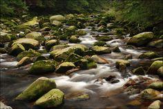 Vydra River, Sumava National Park, Czech Republic Visit Prague, Magical Forest, My Heritage, Mountain Range, Natural Wonders, Czech Republic, Countryside, Waterfall, National Parks