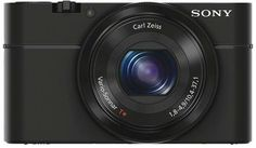 Cyber-shot RX100 Black Digital Camera (20.2 MP, 3.6x Opt, MS/MS Pro Duo/SD/SDHC/SDXC Card Slot)
