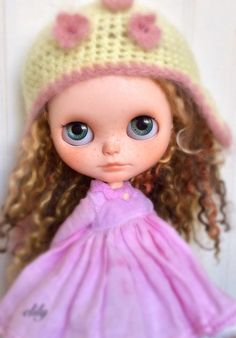 OOAK Custom Blythe Doll by electricblueblythe in Dolls & Bears, Dolls, By Brand, Company, Character, Blythe | eBay
