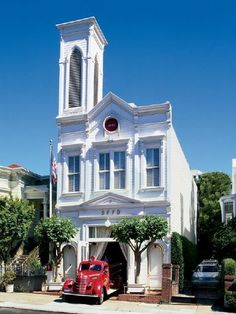Fire house converted to a Church, then to a home :)