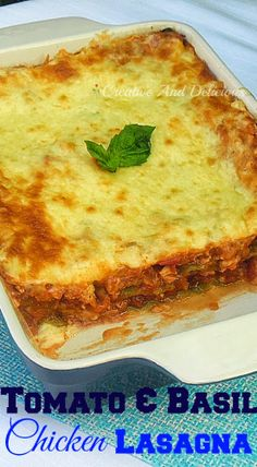 #ChickenLasagna 1 Onion, chopped roughly 2 Carrots, chopped into chunks 2 Celery Sticks, chopped 4 TB Olive Oil 500g Chicken Fillets, cut into small stir-fry pieces 1/2 cup Dry Red Wine 2 cans (410g each) Chopped Tomatoes 2 t Sugar 1/2 cup Chicken Stock 1 cup Basil Leaves, torn Salt & Black Pepper, to taste 6 TB Butter, melted 6 TB Flour 3 cups Milk 1/2 cup Mozzarella Cheese, grated 6 - 8 Spinach Lasagna Sheets