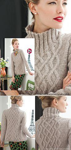 Пуловер из журнала Vogue Knitting Holiday 2013                                                                                                                                                      More