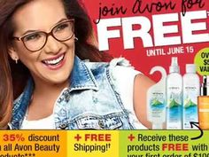 Wow, FREE join Avon to receive 35% Discount for Beauty products! Awesome deals and savings in Campaign 13! This video highlights the best priced items in C13. To view the eBrochure at www.feannyxu.com/avon-brochure. #AvonCanada #joinAvon #FREEjoin #save #alimitedtimeoffer #discount #FREEmembership #cosmetics #makeup #skincare #summerfashion #jewelry #home #workfromhome