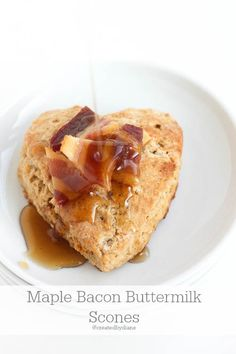 Maple Bacon Buttermilk Scones @createdbydiane