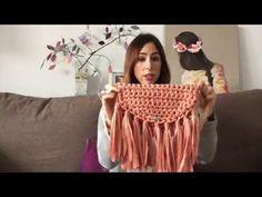 Tutorial IV Cómo hace un bolso de mano de trapillo - YouTube