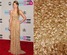 Muy buenos días, Tela dorada de lentejuelas PVP 39,90€ Si necesitas un vestido de fiesta como este, ACÉRCATE y te lo confeccionamos.