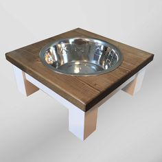 grande cane cane alimentatore vasca singola tabella