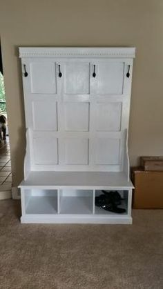 Farmhouse Hall Tree Projects To Try Diy Furniture