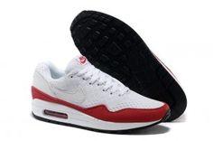 buy online e3610 11fdf Nike Air Max 87 EM White White University Red White 554718 161 Nike Air Max  87