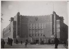 Amsterdam School, Vierde Ambachtschool/ Het Sieraad, Amsterdam, architect: Westerman