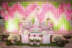Festa Princesa Rosa e Verde