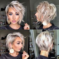 edgy hair long ~ edgy hair _ edgy haircuts _ edgy hairstyles _ edgy hair long _ edgy haircuts medium _ edgy hair colors _ edgy hair short _ edgy haircuts for long hair Long Pixie Hairstyles, Edgy Haircuts, Short Asymetrical Haircuts, Braided Hairstyles, Pixie Haircuts, Mom Haircuts, Asymmetrical Bob Short, Wedding Hairstyles, Great Haircuts