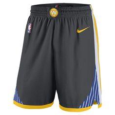 Golden State Warriors Nike Dri-FIT Men s  The Town  Swingman Short - Grey 5e7c05771