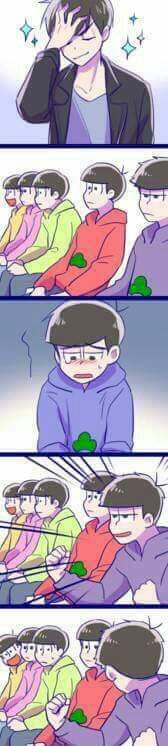 Sadistic Ichimatsu caught out in the open