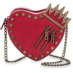 Disney Descendants Fashion Bag 427244156025 ($25) ❤ liked on Polyvore featuring bags, handbags, disney bags, disney handbags, disney, red bags and red handbags